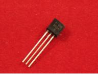BC547B, Транзистор NPN 45В 100мА (TO-92)