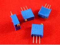 Потенциометр (подстроечный резистор, триммер) 3296W