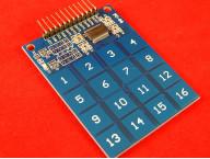 Сенсорная (ёмкостная) клавиатура 4х4 на TTP229