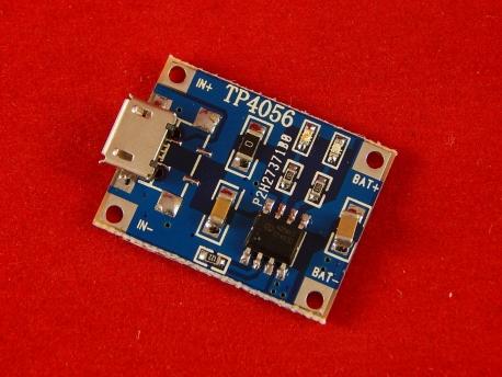 ... литий-ионных аккумуляторов на TP4056 до 1A
