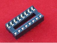 DIP панель 16 контактов узкая