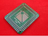 Печатная плата адаптер для TQFP 0.8 и 0.5мм SMD