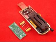 Программатор 24 EEPROM и 25 SPI FLASH на CH341A USB