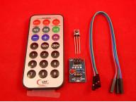 ИК мультимедиа пульт с платой управления на HX1838