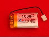 Аккумулятор Li-Pol 1000мАч 3.7В (Литий полимерный)