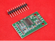 HX711 модуль для подключения весов (тензодатчиков)