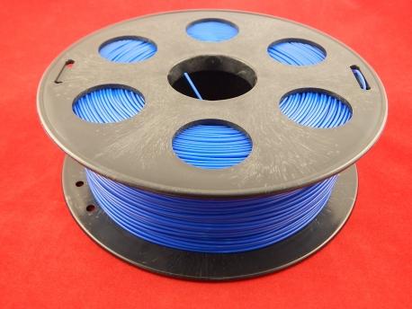 Пластик ПЛА/PLA 1.75мм Синий (1кг)
