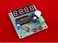 Часы на AT89C205 с будильником в сборе