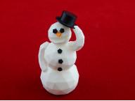 """Модель """"Снеговик в шляпе"""""""