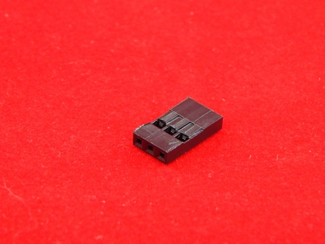 Розетка на кабель 3-контактная (без контактов)