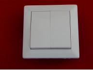 Выключатель С5 10-803 двухклавишный скрытой установки