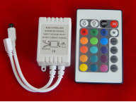 RGB контроллер Ecola с пультом управления 72W 12V 6Aс инфракрасным пультом управления