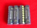 Батарейка Defender LR6-4F, AA, 1,5В, 4шт