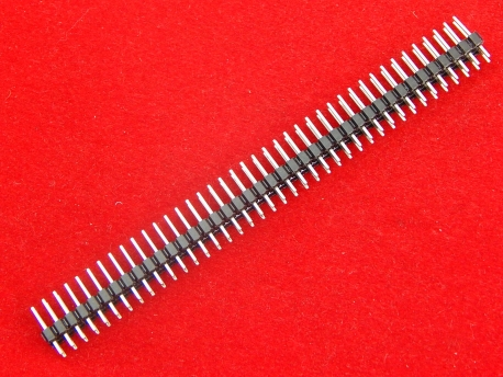 Контакты для пайки 40Х2 (прямые, 11,2мм)