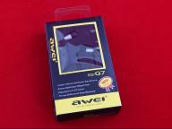 Наушники Awei ES-Q7 (Серебристый)