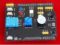 Многофункциональный шилд (Multi-function Shield) с DHT11 и LM35